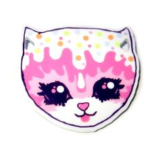 The Roxie Sweetheart Boutique - Cute, Kitsch and Kawaii Jewellery! Cream Cat, Kawaii Jewelry, Kitsch, Hello Kitty, Brooch, Jewellery, Boutique, Cats, Fictional Characters
