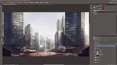 Matte Painting Tutorial for Architectural Visualisation - Narrated/Explained | CG Tutorials library