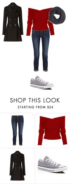 """""""fall"""" by ella0611-2001 on Polyvore featuring beauty, Frame Denim, Burberry, Converse and Frenchi"""