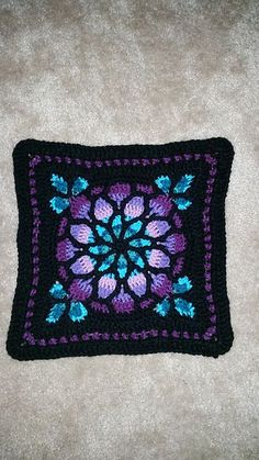 Ravelry: ladyintheatre's Stained Glass Window Afghan
