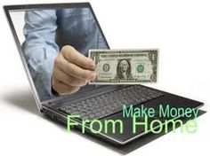 6  ways to make money online from home  Now you do not have to work at an office to make money ( though it is still the main source of income). You can still make a substantial amount of money   from home too.  http://directoryready.com/blog/ways-make-money-online-home