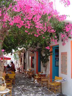 Greek Island of Paros