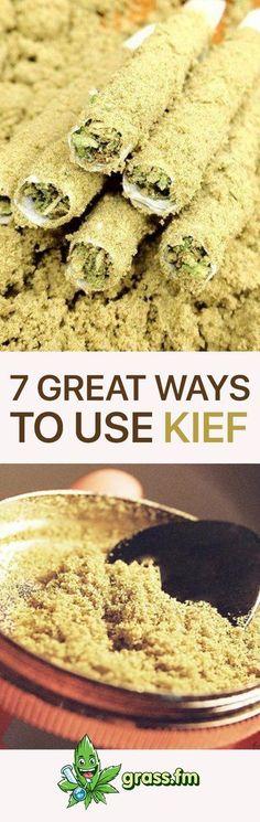 Click here to learn 7 great ways to use kief! #marijuana #weed #cannabis #cannabiscommunity #bong #weedstagram