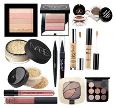 """""""Real vs the deal"""" by christienowland ❤ liked on Polyvore featuring beauty, Revlon, Bobbi Brown Cosmetics, Anastasia Beverly Hills, NYX, NARS Cosmetics, Maybelline, Urban Decay, L'Oréal Paris and MAC Cosmetics"""