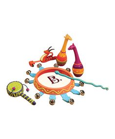 Look what I found on #zulily! Jungle Jamming Set #zulilyfinds