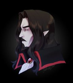 """""""You are my dad, you're my dad, boogie woogie woogie """" It's been a while since I sat down to put a little effort into a wind down sketch, so I decided to draw Dracula because I'm super fond of his. Castlevania Dracula, Alucard Castlevania, Castlevania Netflix, Castlevania Lord Of Shadow, Netflix Anime, Netflix Movies, Dracula Tattoo, Photoshop 8, Lord Of Shadows"""