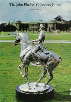 John Pinches international dressage trophy, commissioned in silver, by Lorne McKean