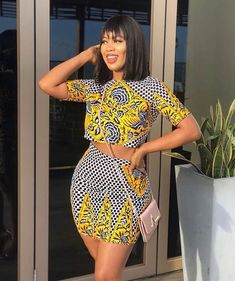 These are latest ankara styles that will give you that awesome look you need, ankara gowns, ankara skirt and blouse. They come in different designs just to make you look sweet. African Fashion Ankara, African Inspired Fashion, Latest African Fashion Dresses, African Print Fashion, Africa Fashion, Nigerian Fashion Dresses, African Men, African Style, Short African Dresses