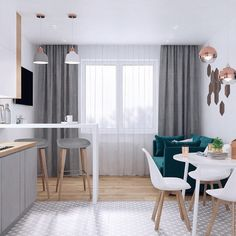 Trendy home decored ideas small living room floors ideas Living Room Modern, Small Living, Living Room Decor, Living Rooms, Small Condo Decorating, Bungalow Decor, Small Apartment Kitchen, Living Room Flooring, Trendy Home