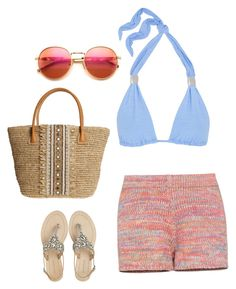 """""""Beach"""" by sky-ford-images on Polyvore featuring BCBGMAXAZRIA, Heidi Klein, Antik Batik, Wildfox and Skemo"""