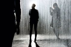 MoMA's Rain Room Installation -- by Random International