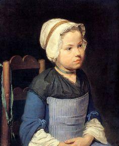 La petite reveuse, Jean-François Gilles Colson (1733-1803)