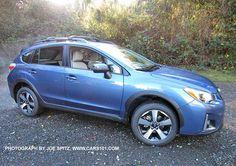 2016 Quartz Blue Subaru Crosstrek Hybrid