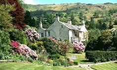 """""""Nature never did betray the heart that loved her.""""  ~William Wordsworth.  Photo: Home of William Wordsworth. Rydal Mount, Ambleside, Lake District, Cumbria, England."""