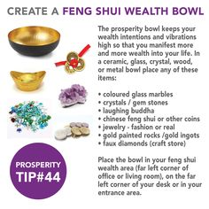 Feng Shui Tips For Wealth, Feng Shui And Money, Feng Shui Guide, Feng Shui Basics, How To Feng Shui Your Home, Feng Shui For Health, Fen Shui, Feng Shui Colours, Metal Bowl