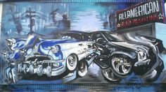 (1) ALL AMERICAN TRUCK & SUV CENTERS - Google+... A little ode to the vehicles we customize! Added to the wall at our location in Portland, Oregon.