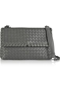 Bottega Veneta Olimpia small intrecciato leather shoulder bag | NET-A-PORTER