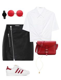"""""""Без названия #49"""" by t-elks on Polyvore featuring мода, T By Alexander Wang, adidas, CLUSE и Lilly Pulitzer"""