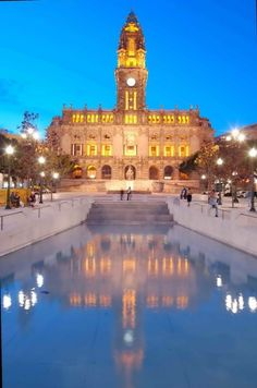Câmara Municpal do Porto / Porto City Hall by visitporto, via Flickr #Porto #Portugal #Douro