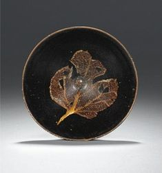 Konoha Temmoku tea bowl. Southern Song Dynasty, 12th/ 13th century