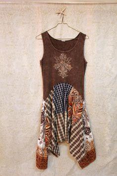 Boho Tank Top Dress ~ CUTE!