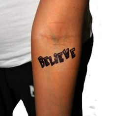 Free Justin Bieber Tattoos! haha of course I would repin this