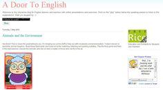 A door to #English muestra sus recursos y materiales para #inglés en ESO.