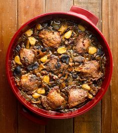 pheasant with mushrooms