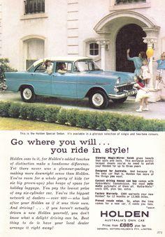 Australian Vintage, Australian Cars, Vintage Advertisements, Vintage Ads, Holden Australia, Holden Monaro, Pin Up Posters, Car Brochure, The Good Old Days