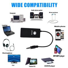 Description:This is a bluetooth stereo audio dongle transmission adapter. It enable you to enjoy music and voice in the Bluetooth-enabled multimedia or mu Bluetooth Dongle, Bluetooth Stereo Headset, Hifi Stereo, Electronics Online, Mp4 Player, Ipod, Audio, Multimedia, Car