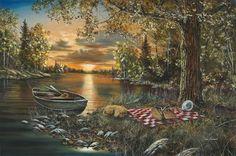 Lakeside Rendezvous by Jim Hansel