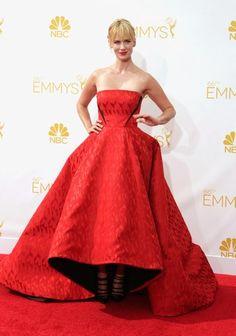 Heidi Klum - La alfombra roja de los premios Emmy 2014 se llena de glamour