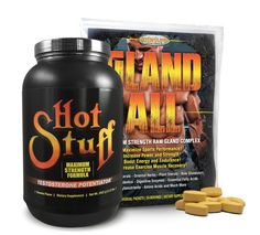 Hot Stuff Banana & Gland-All Anabolic Muscle Growth Combo. Plant Sterols, Essential Fatty Acids, Amino Acids, Muscle, Banana, Herbs, Hot, Bananas, Herb