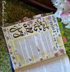bible journaling- count it all joy