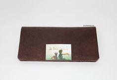 ნატურალური ტყავის ორიგინალური საფულე Little Prince handmade leather wallet