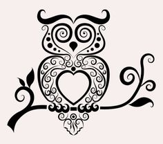 Free download Hand drawn owl Decoration Pattern vector. File format: EPS. Category: Animal vectors