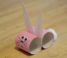 Toilet Paper Roll Crafts Archives - Happy Home Fairy Easter Activities, Preschool Crafts, Crafts For Kids, Bunny Crafts, Easter Crafts, Easter Ideas, Spring Crafts, Holiday Crafts, Happy Home Fairy