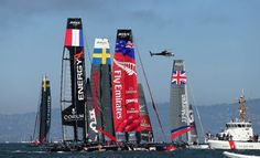 America's Cup event fundraising stalled at $14 million with less than two months to go toward goal of $34,000,000. Photo: Ezra Shaw, Getty Images For Omega / 2012 Getty Images