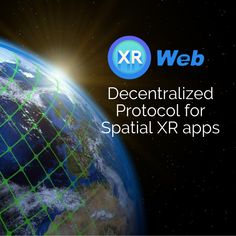 XRWeb is the first decentralized protocol for spatial XR apps, enabling application developers to build and monetize XR (Extended Reality) applications for the spatial web. Augmented Reality, Virtual Reality, Blockchain Technology, Game App, First Names, Cryptocurrency, Social Media Marketing, Investing, Community