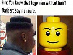 Leggo #barberweek #barber #barbershop #haircut #hair #hairstyle #saynomore  #memeweeek #meme #memes #memestagram #dailymemes #memesdaily #funnymemes #fun #funny #joke #laugh #memesworld #lego #legostagram #legophotography #legominifigures