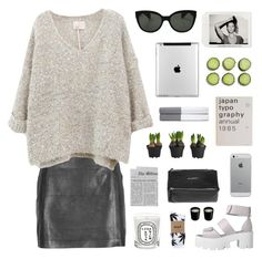 frost by jesicacecillia on Polyvore featuring мода, VIPARO, HUF, Givenchy, Oliver Peoples, Ralph Lauren Home and Diptyque