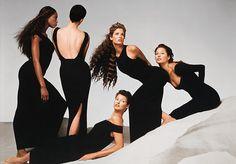 Avedon - Versace (1993)