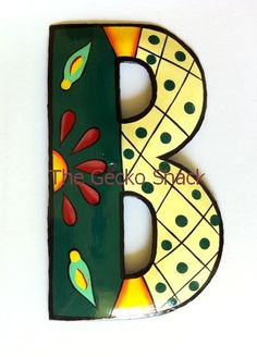 The Gecko Shack - House Number Green Shack House, Metal Drum, Happy Year, Letter B, Tropical Houses, House Numbers, House Colors, Metal Working, Recycling