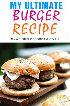 The Healthy McDonalds – My Cheats Burger, Chips & Milkshake Recipe   My Weight Loss Dream