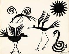 Birds and Snake by Alexander Calder, 1956