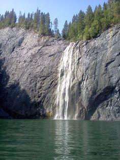 Pee Wee Falls near Metaline Falls, WA