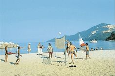 Beach Volleyball - Thassos #Macedonia in northern #Greece - #macedonia2014