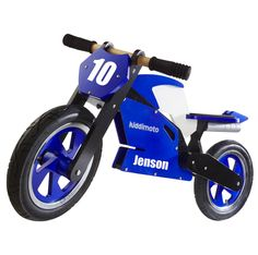 Personalised Wooden Superbike - great gift for Christmas!