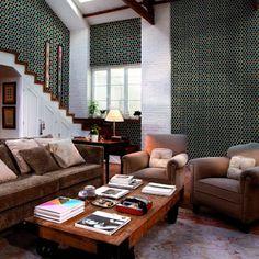 Gạch Bông Việt Nam: Trang trí nhà bằng gạch ốp lát có hoa văn đọc và l...
