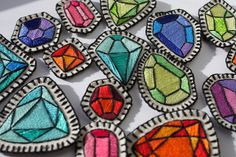 Embroidered Gem Patches | Flickr - Photo Sharing!
